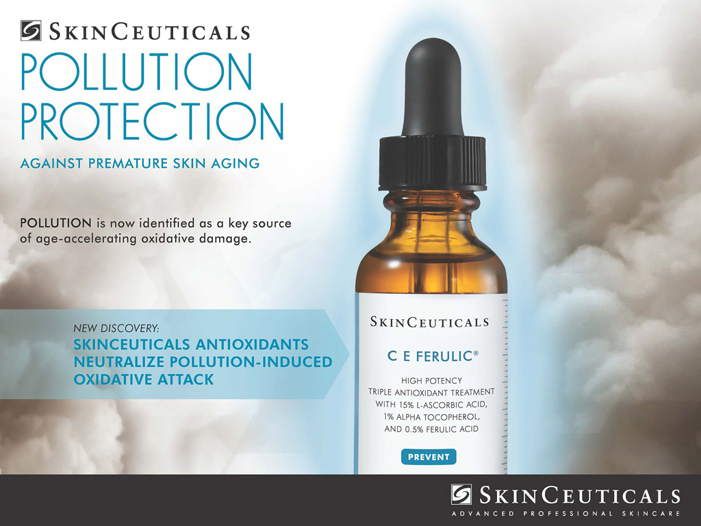 SkinCeuticals Pollution Protection against premature skin aging